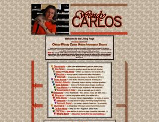 wendycarlos.com screenshot