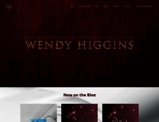 wendyhigginswrites.com screenshot