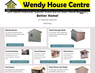 wendyhousecentre.co.za screenshot