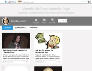wendymcelroy.liberty.me screenshot