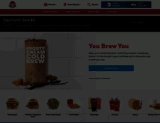 wendys.com screenshot