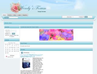 wendysforum.net screenshot