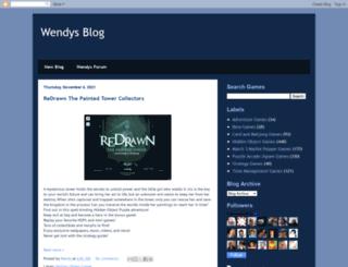wendysfullgames.blogspot.it screenshot
