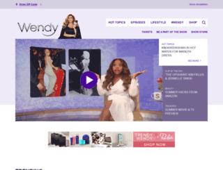 wendyshow.com screenshot