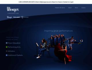 wengercorp.com screenshot