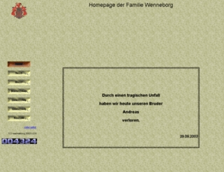 wenneborg.de screenshot