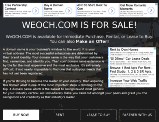 weoch.com screenshot