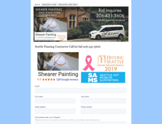 wepaintseattle.com screenshot