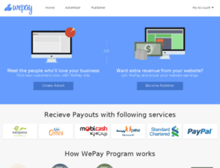 wepay.pk screenshot