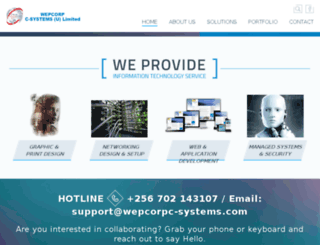 wepcorpc-systems.com screenshot
