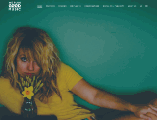 wepluggoodmusic.com screenshot