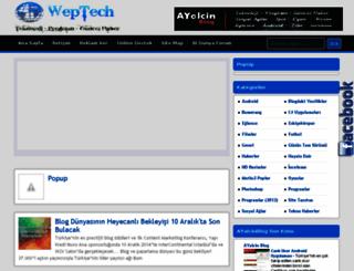 weptech.blogspot.com screenshot