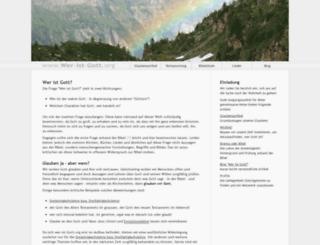 wer-ist-gott.org screenshot
