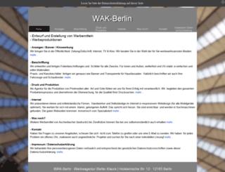 werbeagentur.klauck.de screenshot