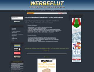 werbeflut.com screenshot