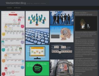 werbemittel-blog.at screenshot