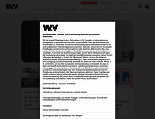 werbenundverkaufen.de screenshot