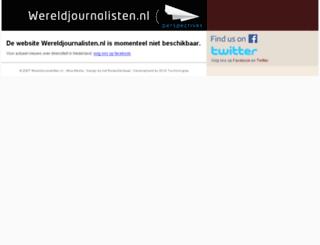 wereldjournalisten.nl screenshot
