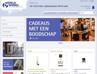 wereldwinkelhilversum.nl screenshot