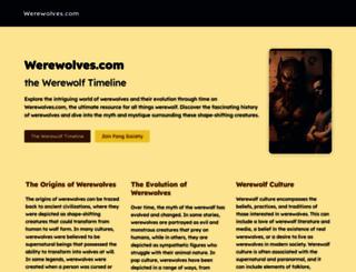 werewolves.com screenshot