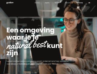 werkenbijguidion.nl screenshot