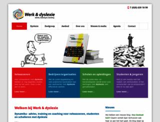 werkendyslexie.nl screenshot