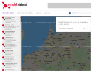 werkplekvinden.nl screenshot