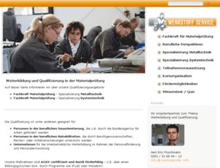 werkstofftechniker.info screenshot