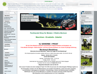 werkzeug-weden.de screenshot