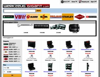werkzeuggigant.com screenshot
