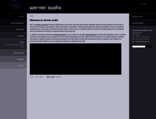 werner-audio.de screenshot