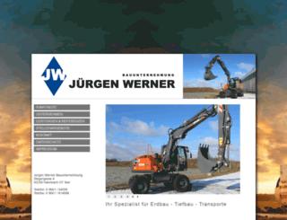 wernerbagger.de screenshot