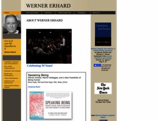wernererhard.com screenshot