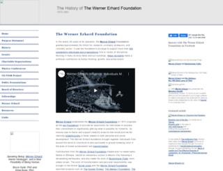 wernererhardfoundation.org screenshot
