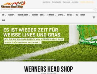 werners-head-shop.ch screenshot