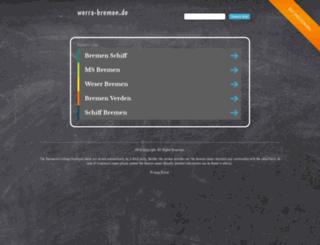 werra-bremen.de screenshot
