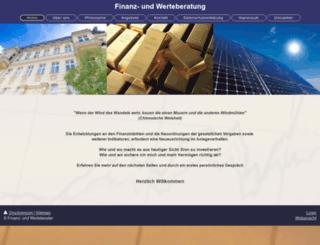 wertefinanz.de screenshot