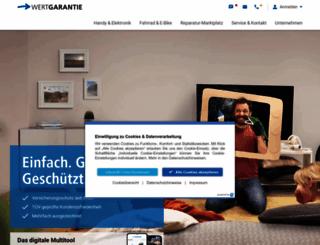 wertgarantie.de screenshot