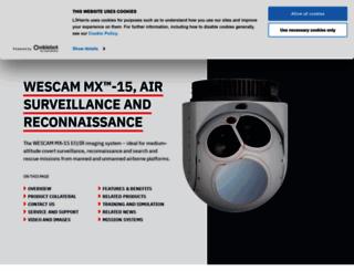 wescam.com screenshot