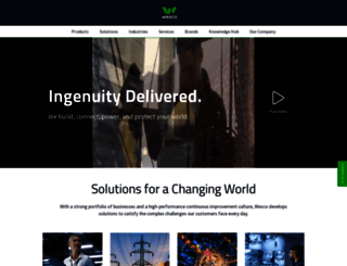 wesco.com screenshot