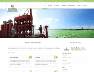 wesderbyindia.com screenshot