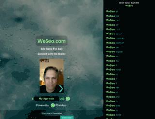 weseo.com screenshot