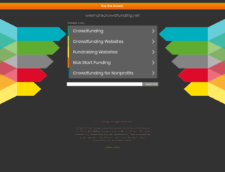 wesharecrowdfunding.net screenshot