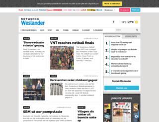 weslander.co.za screenshot