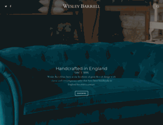 wesley-barrell.co.uk screenshot