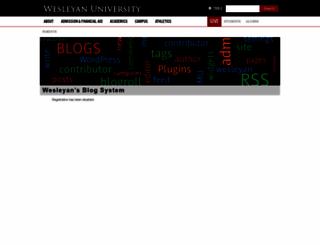 wesleyandining.blogs.wesleyan.edu screenshot
