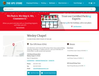 wesleychapel-fl-2941.theupsstorelocal.com screenshot