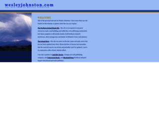 wesleyjohnston.com screenshot