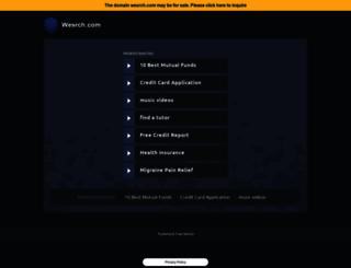 wesrch.com screenshot