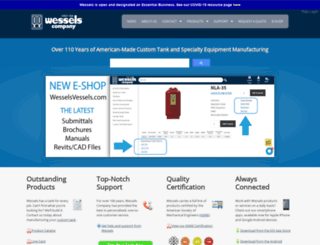 wesselscompany.com screenshot
